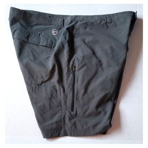 Mens Magellan Outdoor Shorts Olive Green Size 44